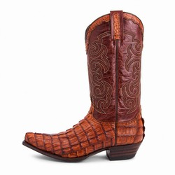 Bottes 10004 Cuervo Alligator cola cresta