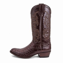 Bottes 10004 Dom Alligator marron