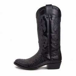 Bottes 10004 Dom Alligator cola negro