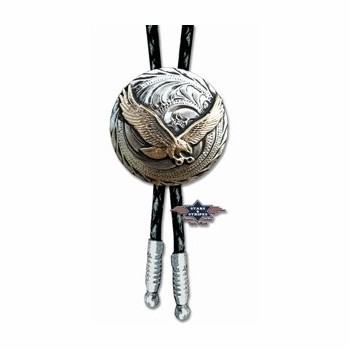 Bolo Tie BT29 Stars and Stripes Bolo ties western st-bt29