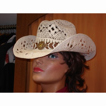 Chapeau paille Bullhide Naughty Girl blanc Bullhide Chapeaux Paille bullhide-2649W