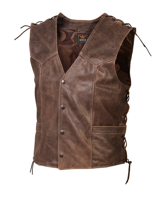 vetement country gilet cuir biker gilets coupe homme gilet. Black Bedroom Furniture Sets. Home Design Ideas