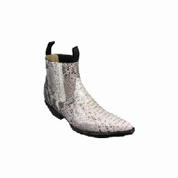 Bottines LUIS PYTHON NATUREL