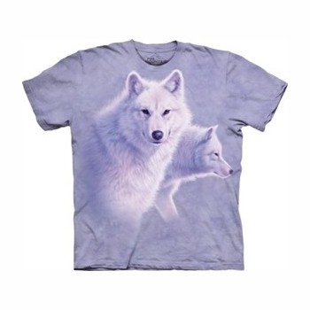 T-shirt graceful white wolf MT1093 Tee Shirt, débardeurs The Mountains MT-1093