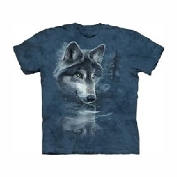 T-shirt wolf reflection  MT1850
