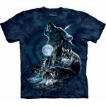 T-shirt bark at the moon MT2275