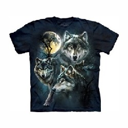 T-shirt moon wolves MT3309