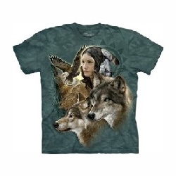 T-shirt wild spirit maiden MT3389