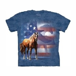 T-shirt wild star flag MT3714