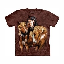 T-shirt Chevaux sauvages MT3458