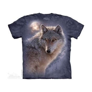 T-shirt Loup MT4013 Tee Shirt, débardeurs The Mountains MT-4013