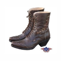 Bottes Stars and Stripes Rosie marron
