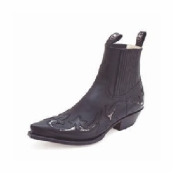Bottines 6799P Pull Oil Negro Python