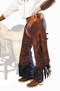 Chaps western Rodeo Short daim Homme Chaps Umbria umb-ab00049