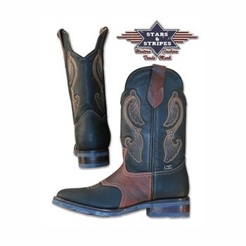 Bottes Stars and stripes WB 26 Stars and Stripes Bottes, santiag Homme Stars and Stripes st-WB-26h